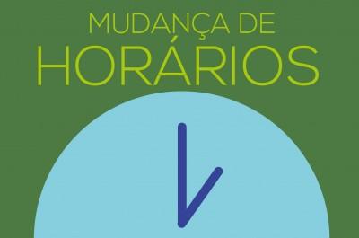 ATENÇÃO NOS HORÀRIOS